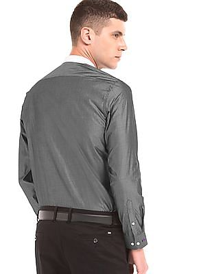 Arrow Newyork Two Tone Slim Fit Shirt
