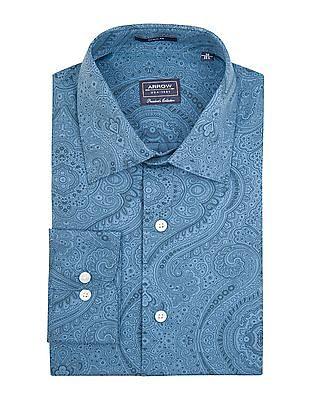 Arrow Paisley Printed Regular Fit Shirt