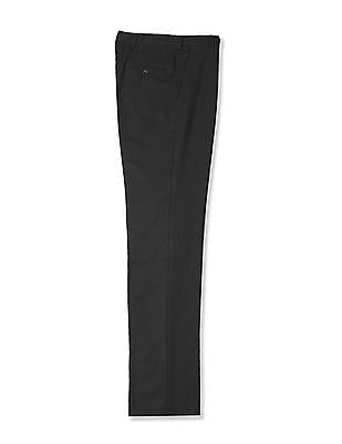 Arrow Mid Rise Smart Regular Fit Trousers