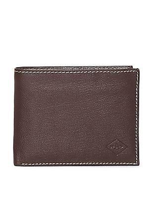 Arrow Leather Bi-Fold Wallet