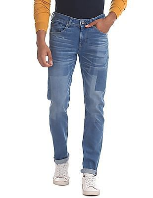 Colt Blue Skinny Fit Low Rise Jeans