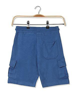 Cherokee Boys Solid Knit Shorts