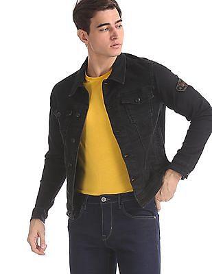 U.S. Polo Assn. Denim Co. Black Washed Denim Jacket
