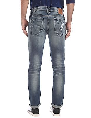 Ed Hardy Dagger Fit Stone Wash Jeans