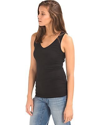 GAP Ribbed V-Neck Tank