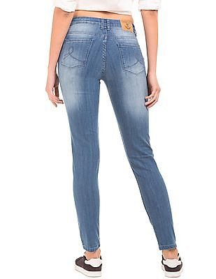 Cherokee Stone Wash Slim Fit Jeans