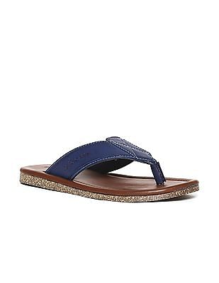 U.S. Polo Assn. Colour Block V-Strap Sandals