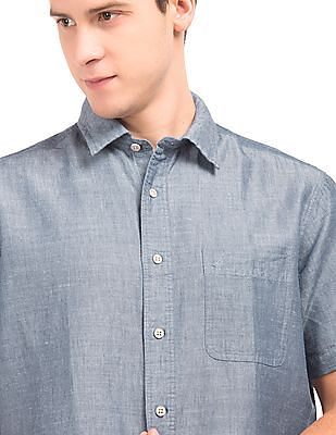 Nautica Two Tone Regular Fit Shirt