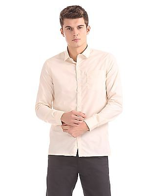 Excalibur Chest Pocket Solid Shirt