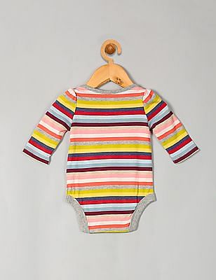 GAP Baby Multi Colour Print Long Sleeve Bodysuit