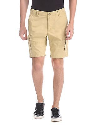 Flying Machine Woven Cargo Shorts
