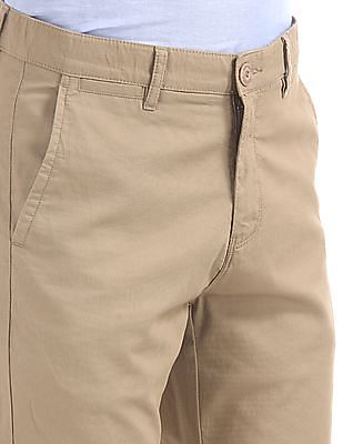 Ruggers Urban Slim Fit Mid Rise Trousers