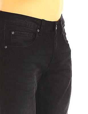 Colt Black Low Rise Dark Wash Jeans