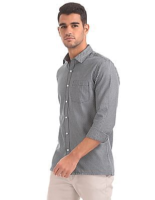 Excalibur Jacquard Cotton Shirt