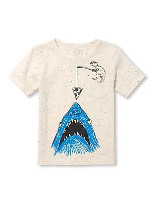 The Children's Place Toddler Boy Patch Pocket Graphic Tee