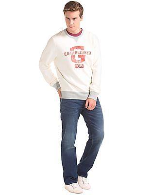 GAP Vintage Athletic Logo Crew Sweatshirt