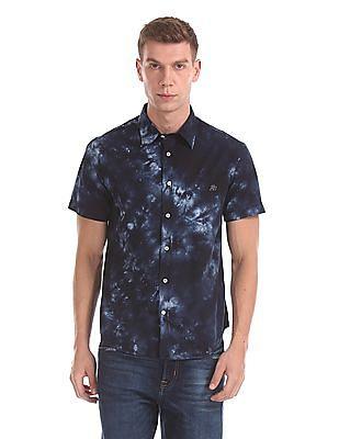 Aeropostale Tie-Dye Short Sleeve Shirt