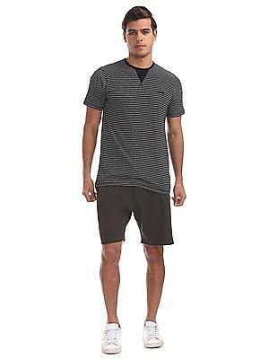 Cherokee Regular Fit Striped T-Shirt