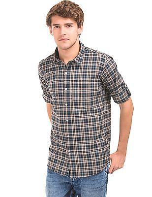 Ruggers Check Cotton Shirt