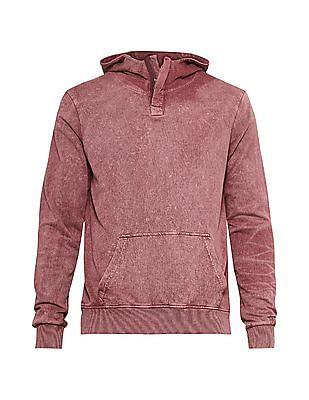 Cherokee Red Long Sleeve Hooded Sweatshirt