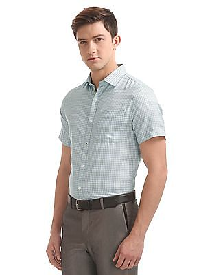 Excalibur Slim Fit Check Shirt