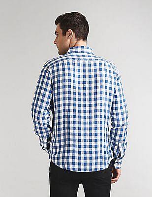 GAP Check Linen Shirt