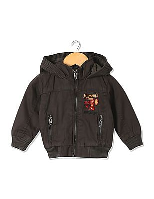 Donuts Boys Hooded Panelled Jacket