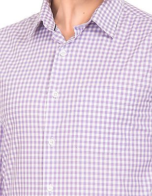 USPA Tailored Tailored Fit Check Shirt