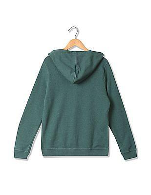 U.S. Polo Assn. Women Appliqued Hooded Sweatshirt