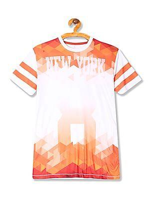 Colt Printed Active T-Shirt