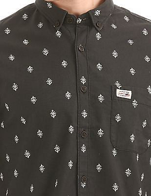 U.S. Polo Assn. Denim Co. Printed Button Down Shirt