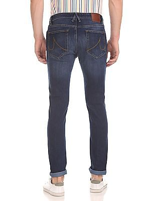 Arrow Sports Justin Skinny Fit Washed Jeans