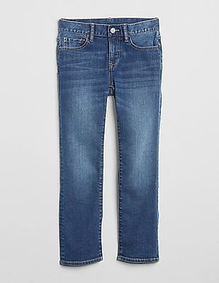 GAP Boys Superdenim Straight Jeans With Fantastiflex