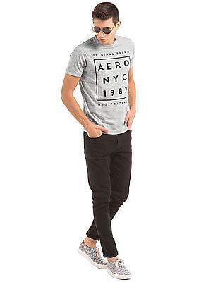 Aeropostale Heathered Slim Fit T-Shirt