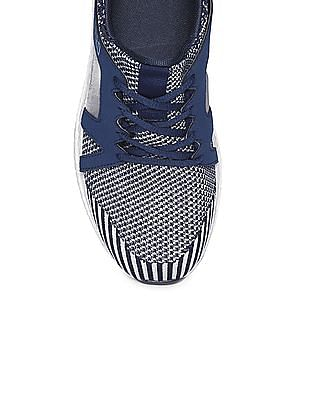 Aeropostale Panelled Canvas Sneakers