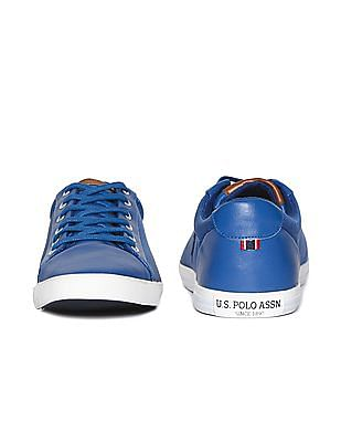 U.S. Polo Assn. Round Toe Textured Sneakers