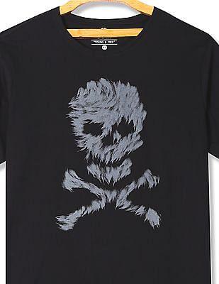 Colt Round Neck Printed T-Shirt
