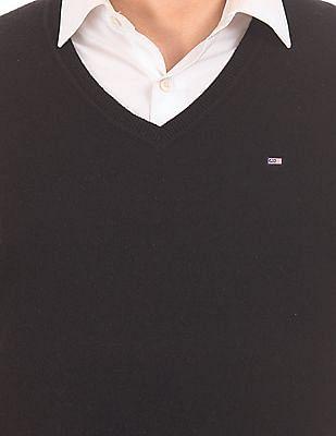 Arrow Sports Long Sleeve Lambswool Sweater