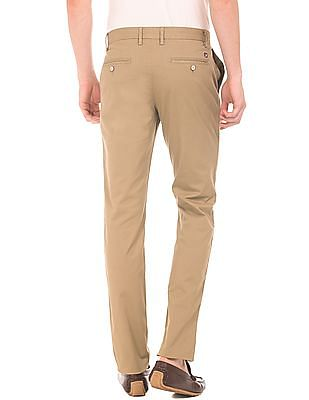 U.S. Polo Assn. Slim Fit Printed Trousers