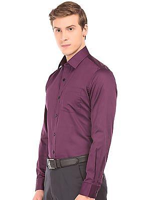 Arrow Cutaway Collar Slim Fit Shirt