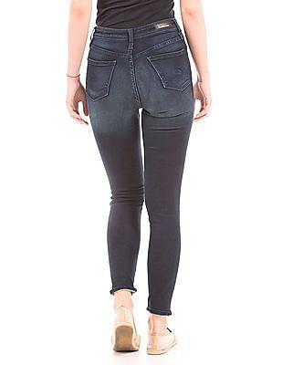 Elle Stone Washed Super Skinny Fit Jeans