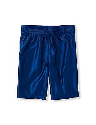 The Children's Place Boys Blue Active Shorts