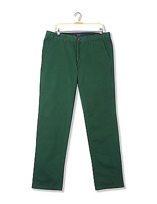 Gant Narrow Fit Flat Front Trousers