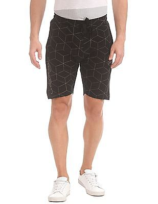 Ed Hardy Slim Fit Printed Shorts