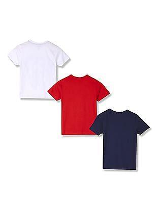 Cherokee Boys Printed T-Shirt - Pack Of 3