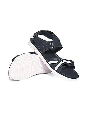 U.S. Polo Assn. Open Toe Striped Sandals