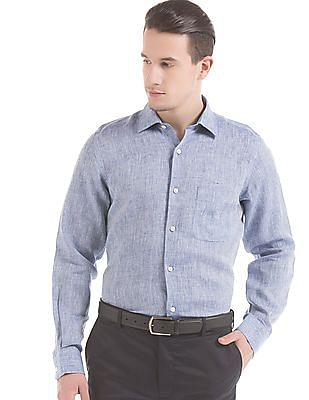 Arrow Regular Fit Linen Shirt