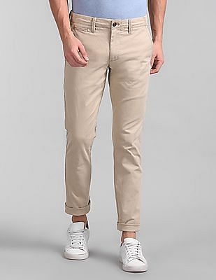 so cheap variety design 50% off Buy Men 000000084426130808 Iconic Khaki Mens Pants online at NNNOW.com
