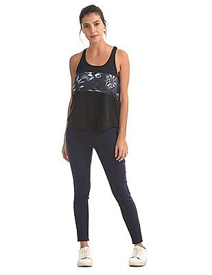 Aeropostale Printed Chest Active Tank Top