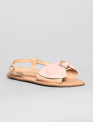 GAP Girls Bow Trim Sandals